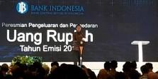 Presiden Jokowi Resmikan Peluncuran Uang Rupiah Baru