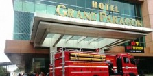 Tempat Karaoke Hotel Grand Paragon Kebakaran