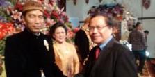 Foto: Rizal Ramli di Pernikahan Kahiyang - Bobby