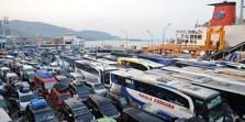 159 Ribu Orang dan 17 Ribu Mobil Menyeberang ke Sumatera