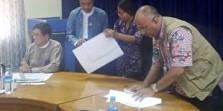 Ichsan Thalib Dari MER-C Tandatangani Pembangunan RS Indonesia di Myanmar
