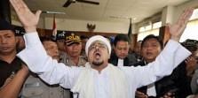 Habib Rizieq Shihab Ditangkap Polisi