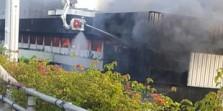 Kebakaran Pasar Senen Belum Padam, Api Merambat Hingga ke Lantai Atas