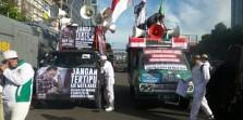 Sidang Ke-4 Penistaan Agama: Massa `Musuh Ahok` Sudah Mulai Padati Lokasi Sidang