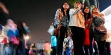 Kota Bekasi Adakan Car Free Night di Jalan Ahmad Yani